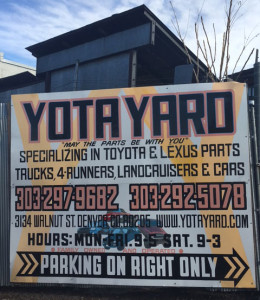 Auto salvage yard denver co